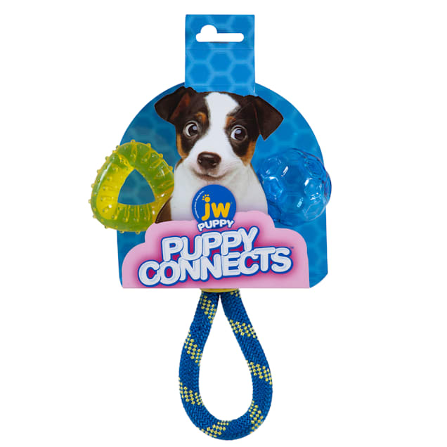 JW Puppy Connects Dog Toy, Small - Carousel image #1