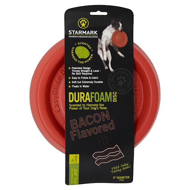 Starmark Bacon Durafoam Disc for Dogs, Medium - Carousel image #1
