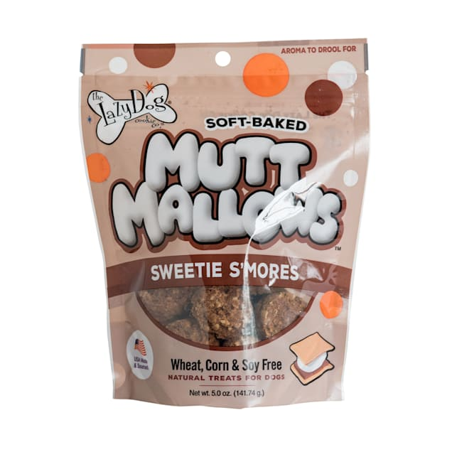 The Lazy Dog Cookie Co. Mutt Mallows Sweetie S'Mores Soft-Baked Dog Treats, 5 oz. - Carousel image #1