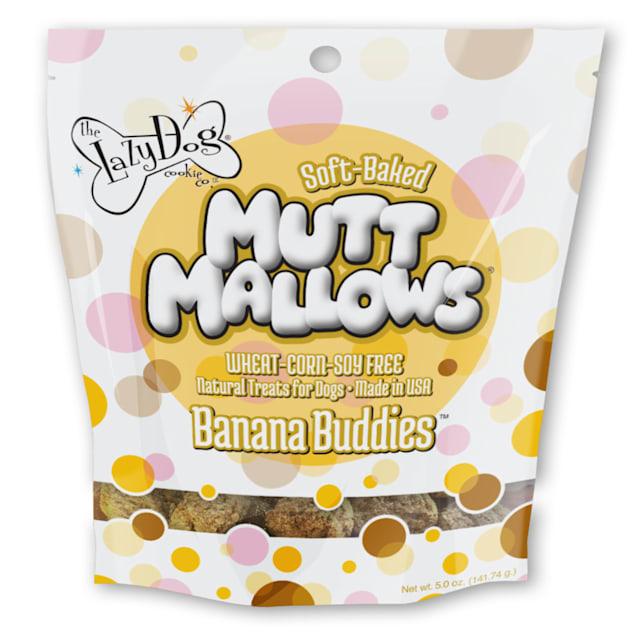The Lazy Dog Cookie Co. Mutt Mallows Banana Buddies Soft-Baked Dog Treats, 5 oz. - Carousel image #1