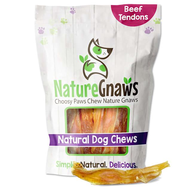 Nature Gnaws Beef Tendon Natural Dog Chews, 16 oz. - Carousel image #1