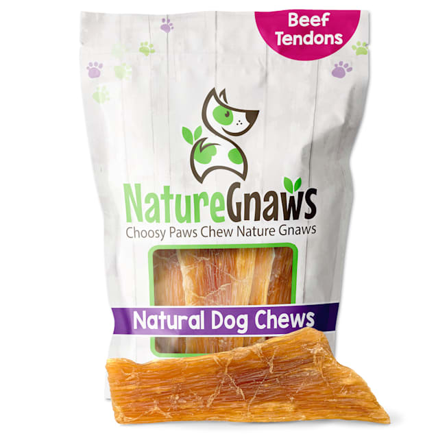 Nature Gnaws Beef Paddywack Natural Dog Chews, 10 Count - Carousel image #1