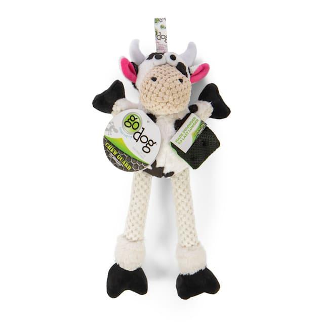 goDog Skinny Cow Plush Dog Toy, Large - Carousel image #1
