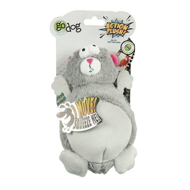 goDog Squirrel Animated Squeaker Dog Toy, Medium - Carousel image #1