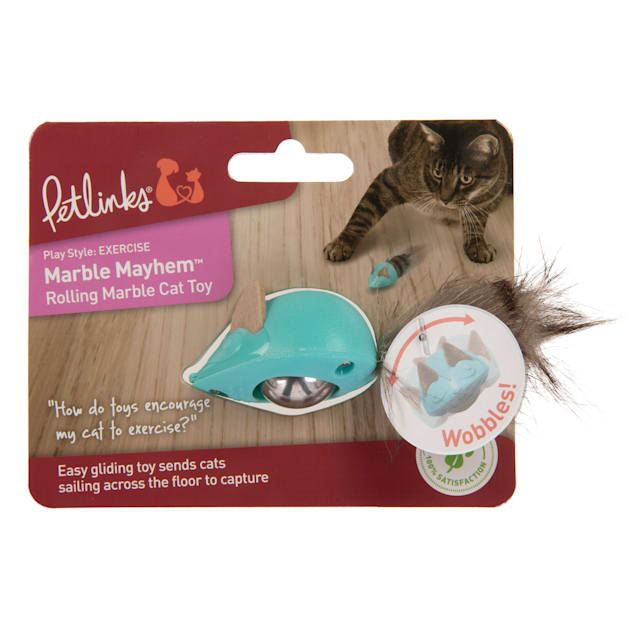 Petlinks Marble Mayhem Roller Cat Toy, Small - Carousel image #1