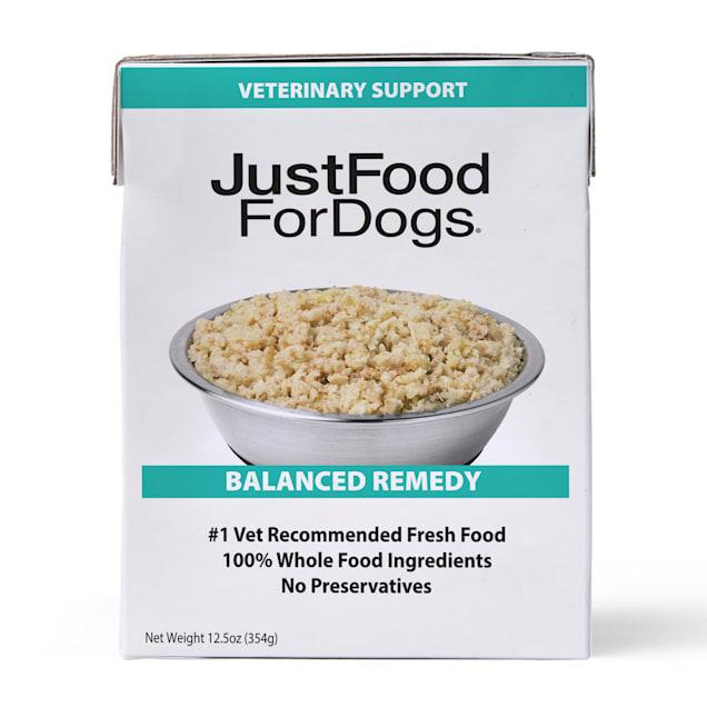 JustFoodForDogs Pantry Fresh Balance Remedy Vet Support Frozen Dog Food, 12.5 oz. - Carousel image #1