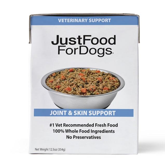 JustFoodForDogs Pantry Fresh Joint & Skin Vet Support Frozen Dog Food, 12.5 oz. - Carousel image #1