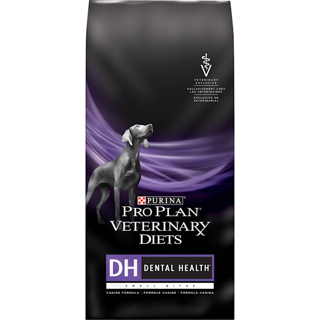 Purina Pro Plan Veterinary Diets DH Dental Health Small Bites Canine Formula Dry Dog Food, 6 lbs. - Carousel image #1
