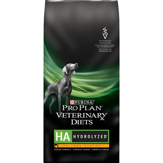 Purina Pro Plan Veterinary Diets HA Hydrolyzed Chicken Flavor Canine Formula Dry Dog Food, 25 lbs. - Carousel image #1