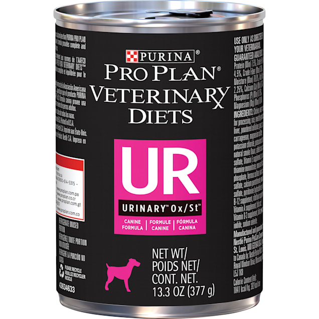 Purina Pro Plan Veterinary Diets UR Urinary Ox/St Canine Formula Wet Dog Food, 13.3 oz., Case of 12 - Carousel image #1