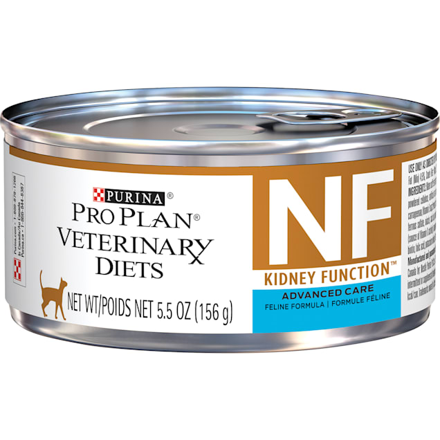 Purina Pro Plan Veterinary Diets NF Kidney Function Advanced Care Feline Formula Adult Wet Cat Food, 5.5 oz., Case of 24 - Carousel image #1