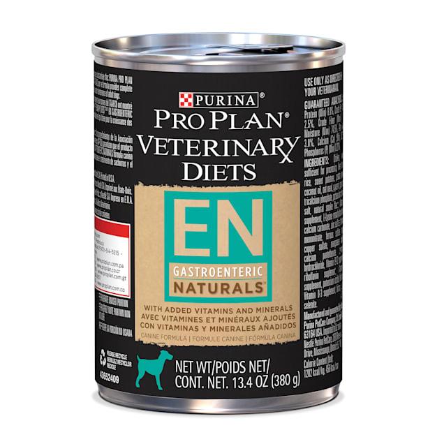 Purina Pro Plan Veterinary Diets EN Gastroenteric Naturals Canine Formula Wet Dog Food, 13.4 oz., Case of 12 - Carousel image #1
