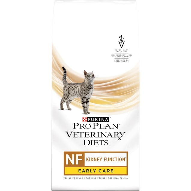 Purina Pro Plan Veterinary Diets NF Kidney Function Early Care Feline Formula Adult Dry Cat Food, 8 lbs. - Carousel image #1