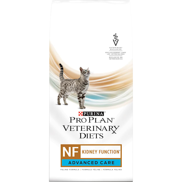 Purina Pro Plan Veterinary Diets NF Kidney Function Advanced Care Feline Formula Adult Dry Cat Food, 8 lbs. - Carousel image #1