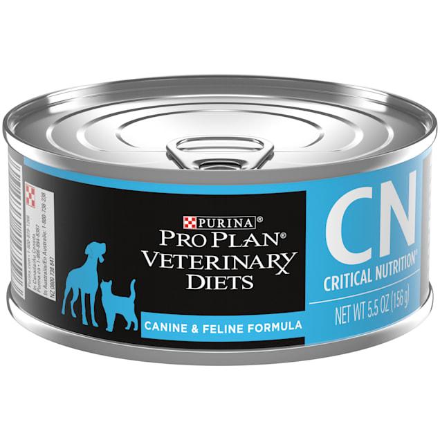 Purina Pro Plan Veterinary Diets CN Critical Nutrition Canine & Feline Formula Wet Dog & Cat Food, 5.5 oz., Case of 24 - Carousel image #1