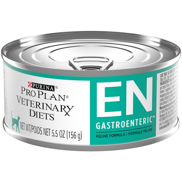 Purina Pro Plan Veterinary Diets EN Gastroenteric Feline Formula Wet Cat Food, 5.5 oz., Case of 24 - Carousel image #1