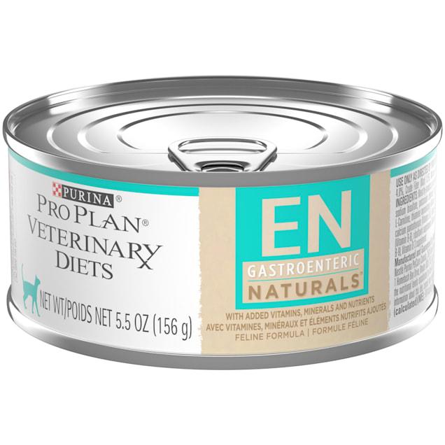 Purina Pro Plan Veterinary Diets EN Gastroenteric Naturals Feline Formula Wet Cat Food, 5.5 oz., Case of 24 - Carousel image #1