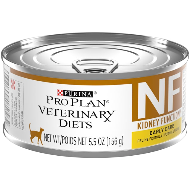 Purina Pro Plan Veterinary Diets NF Kidney Function Early Care Feline Formula Adult Wet Cat Food, 5.5 oz., Case of 24 - Carousel image #1