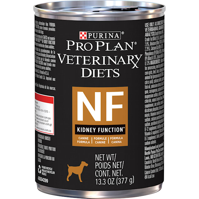 Purina Pro Plan Veterinary Diets NF Kidney Function Canine Formula Wet Dog Food, 13.3 oz., Case of 12 - Carousel image #1