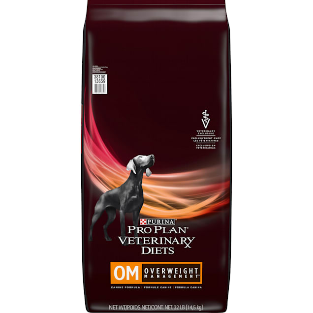 Purina Pro Plan Veterinary Diets OM Overweight Management Canine Formula Dry Dog Food, 32 lbs. - Carousel image #1