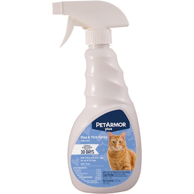 PetArmor Plus Flea and Tick Spray for Cats, 16 fl. oz. - Carousel image #1