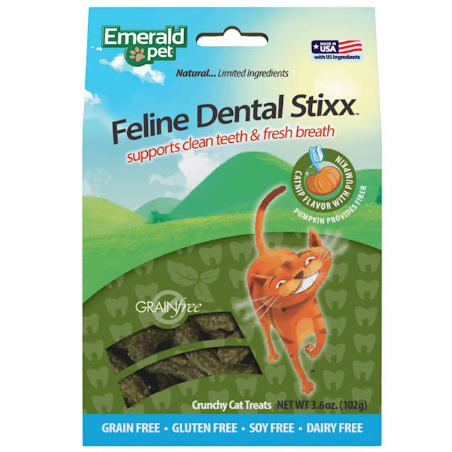 Emerald Pet Products Catnip Dental Stixx for Cats, 3.6 oz. - Carousel image #1