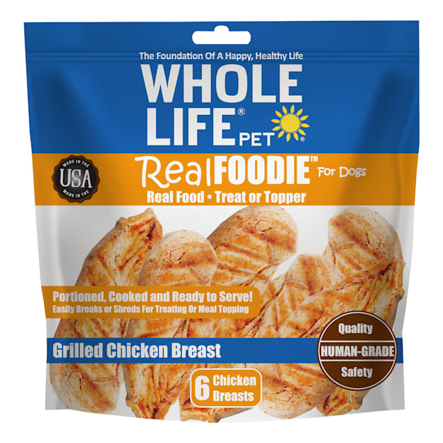Whole Life Pet Real Foodie Whole Chicken Breast for Dogs, 6 oz. - Carousel image #1