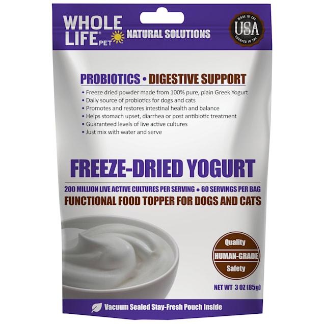 Whole Life Pet Human Grade Freeze Dried Instant Yogurt Powder for Dogs & Cats, 3 oz. - Carousel image #1