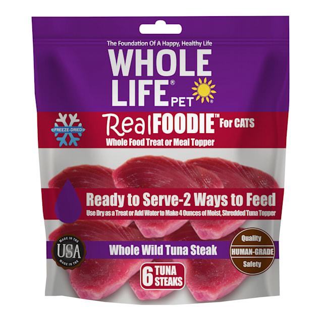 Whole Life Pet Real Foodie Tuna Fillet Cat Treats, 6 oz. - Carousel image #1