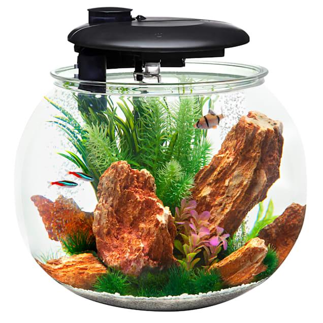 "Penn Plax 10 Gallons 360 Aquasphere Tank, 14.4"" H - Carousel image #1"