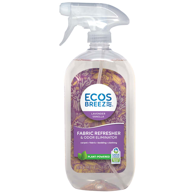 ECOS Breeze Lavender Vanilla Fabric Refresher & Odor Eliminator, 20 fl. oz. - Carousel image #1