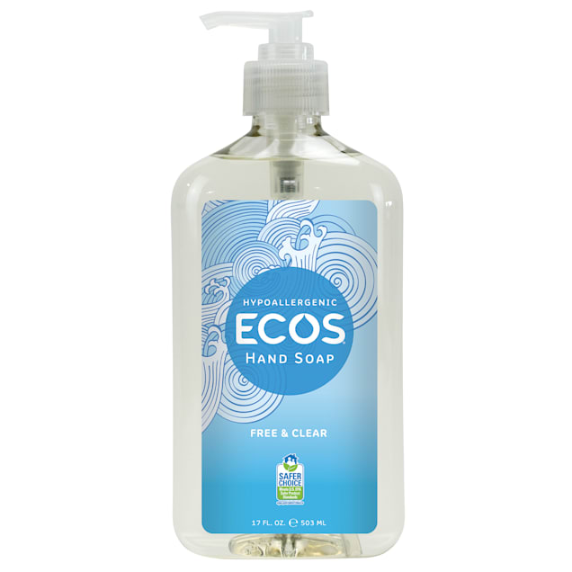 ECOS Hypoallergenic Free & Clear Hand Soap, 17 fl. oz. - Carousel image #1