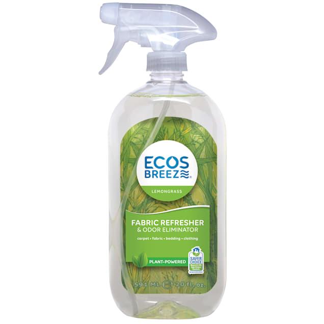 ECOS Breeze Lemongrass Fabric Refresher & Odor Eliminator, 20 fl. oz. - Carousel image #1