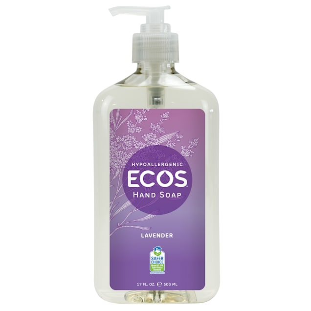 ECOS Hypoallergenic Lavender Scented Hand Soap, 17 fl. oz. - Carousel image #1