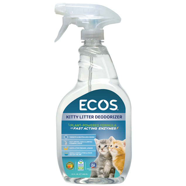 ECOS Kitty Litter Deodorizer Spray, 22 fl. oz. - Carousel image #1