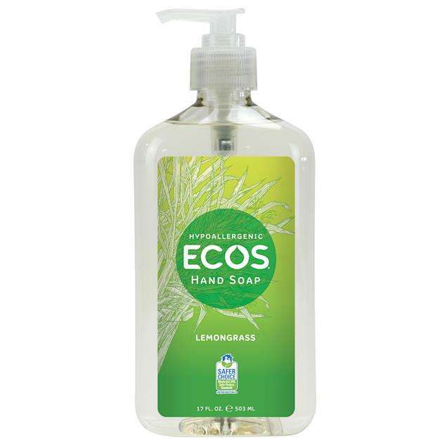 ECOS Hypoallergenic Lemongrass Scented Hand Soap, 17 fl. oz. - Carousel image #1