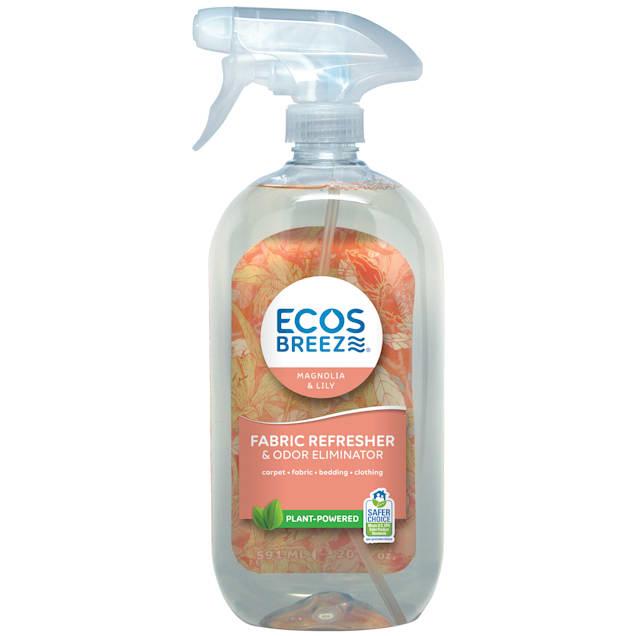 ECOS Breeze Magnolia & Lily Scent Fabric Refresher & Odor Eliminator, 20 fl. oz. - Carousel image #1