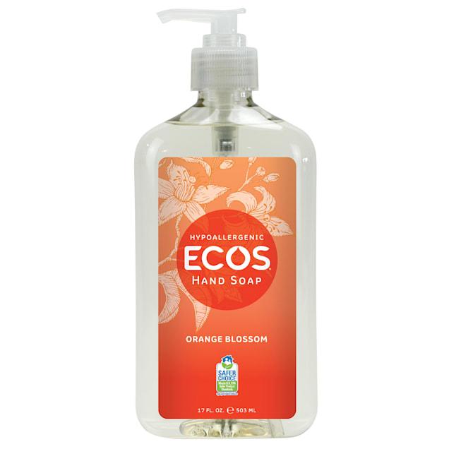 ECOS Hypoallergenic Orange Blossom Scented Hand Soap, 17 fl. oz. - Carousel image #1