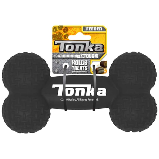 Tonka Tough Rubber Bone Dog Toy, Medium - Carousel image #1