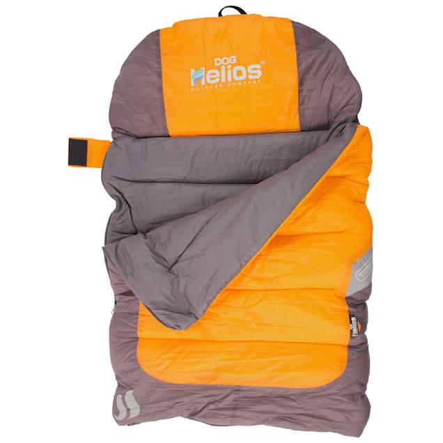 "Dog Helios Orange Trail-Barker Multi-Surface Travel Dog Bed Featuring BlackShark Technology, 39.4"" L X 25.7"" W - Carousel image #1"