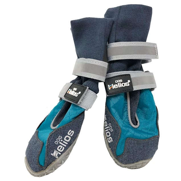 Dog Helios Blue 'Traverse' Premium Grip High-Ankle Outdoor Dog Boots, X-Small - Carousel image #1