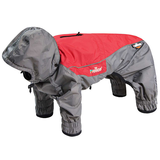 Dog Helios Red 'Arctic Blast' Full Bodied Winter Dog Coat with Blackshark Tech, X-Small - Carousel image #1