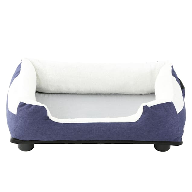 """Pet Life Blue """"Dream Smart"""" Electronic Heating and Cooling Smart Pet Bed, 25.6"""" L X 21.65"""" W - Carousel image #1"""