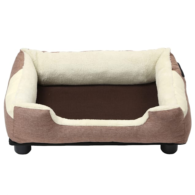 """Pet Life Brown """"Dream Smart"""" Electronic Heating and Cooling Smart Pet Bed, 25.6"""" L X 21.65"""" W - Carousel image #1"""