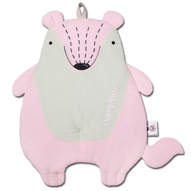 """Touchdog Pink 'Critter Hugz' Designer Character Dog Mat, 38.2"""" L X 21.6"""" W - Carousel image #1"""
