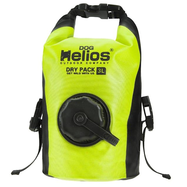 Dog Helios Yellow 'Grazer' Waterproof Outdoor Travel Dry Food Dispenser Bag - Carousel image #1