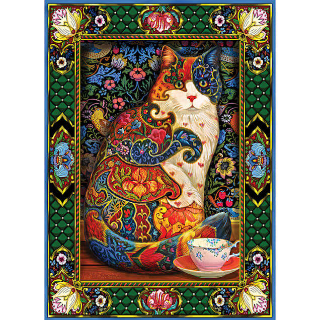 Willow Creek Press Painted Cat 1000-Piece Puzzle - Carousel image #1