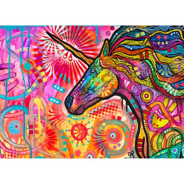 Willow Creek Press Unicornicopia 1000-Piece Puzzle - Carousel image #1