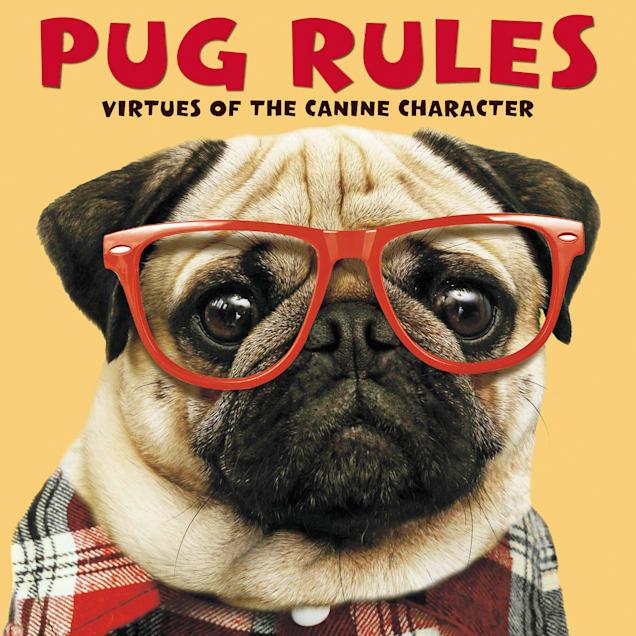 Willow Creek Press Pug Rules Book - Carousel image #1