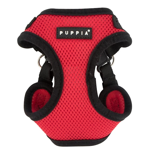 Puppia Red Soft Comfort Dog Harness, Small - Carousel image #1